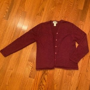 Pendleton Woman's Cardigan Sweater Medium